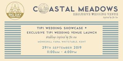 Tipi Wedding Showcase + Exclusive Wedding Venue Launch  Whitstable, Kent