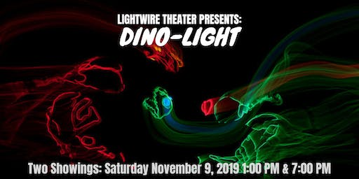 Lightwire Theater Presents: DINO-LIGHT (1 PM SHOWING)