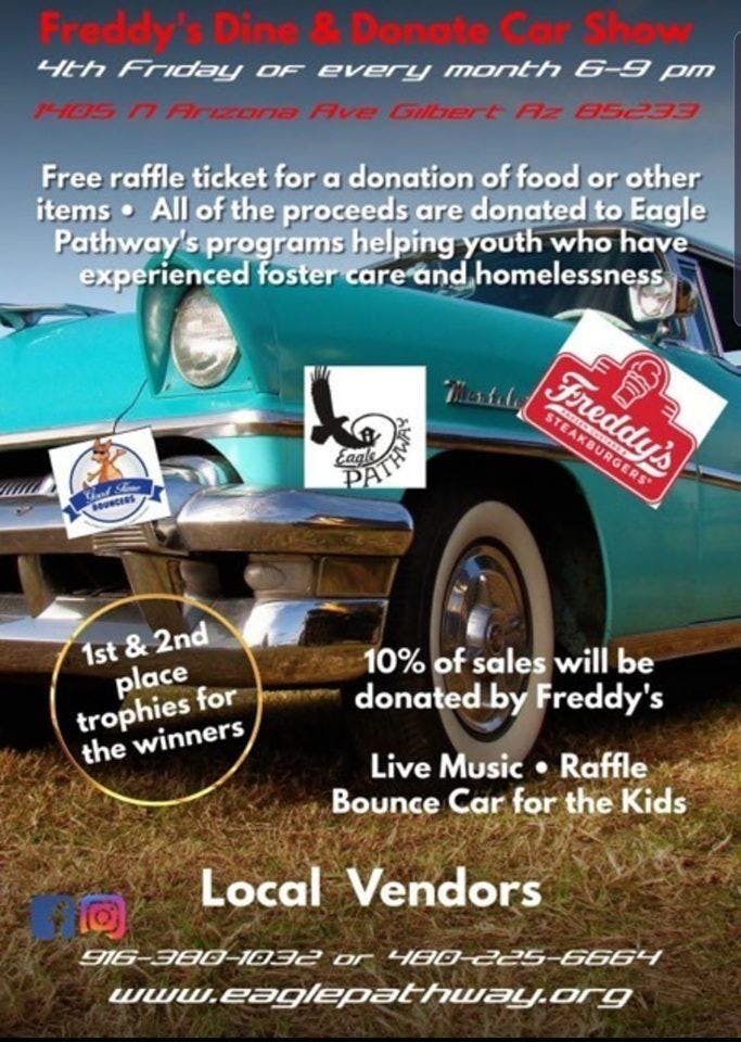 Eagle Pathway & Freddy's Dine & Donate