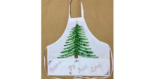 """NEW AT BRUSHSTROKE """"Design Your Own Apron"""" (13yrs+)"""