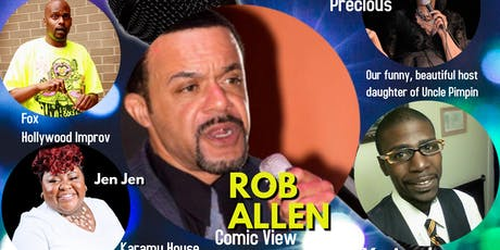 A Funny Night To Remember With Rob Allen tickets