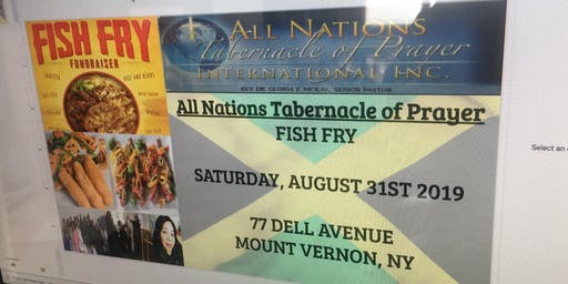 A.N.T.O.P  FUNDRAISER   All Nations Tabernacle of Prayer International inc.  will be hosting a Fish Fry Come and support the works of our heavenly father the one who created the heaven and the earth. Let's do Kingdom buisness help to build the Kingdom.