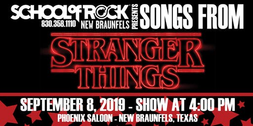 School Of Rock Presents Stranger Things