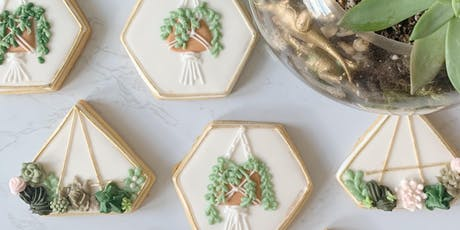 Terrarium & Succulent Cookie Decorating tickets