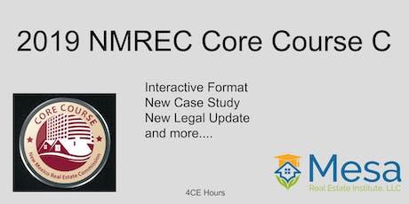 2019 NMREC Core Course C tickets