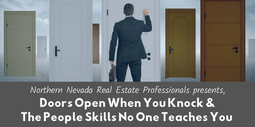 Doors Open When You Knock &  The People Skills No One Teaches You