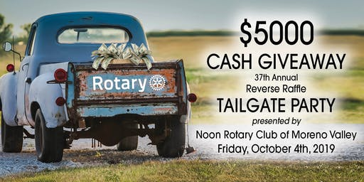 $5000 Cash Giveaway Tailgate Party