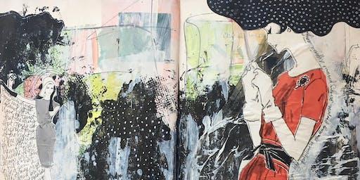 Art Journaling With DeAnne Olguin Williamson - August 18, 2019