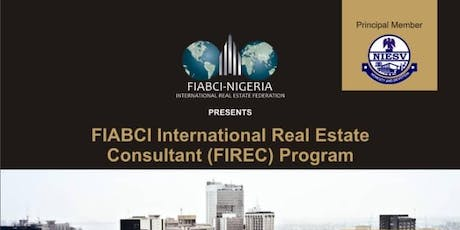 Real Estate Certification (FIREC) tickets