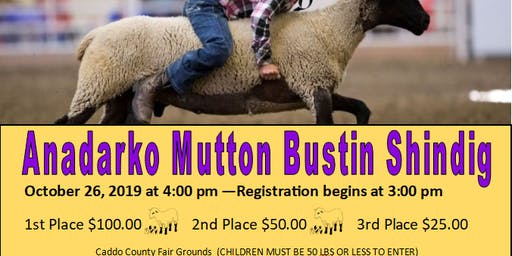 Anadarko Mutton Bustin Shindig