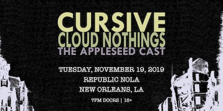 Cursive  w/ Cloud Nothings and The Appleseed Cast tickets