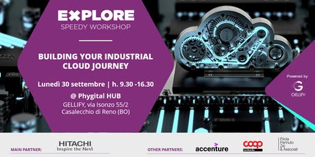 Speedy Workshop - Bulding your industrial cloud journey tickets