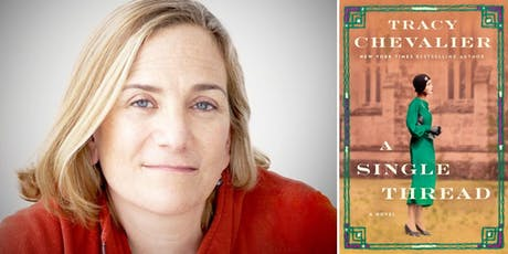 An Evening with Novelist Tracy Chevalier author of A Single Thread tickets