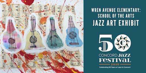 WREN AVENUE ELEMENTARY: SCHOOL OF THE ARTS JAZZ ART UNVEILING