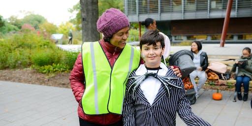 Halloween at the Garden Event Day Volunteering