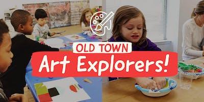Art Explorers Kids Class - 4 Week Session | Pre-K - 3rd Grade