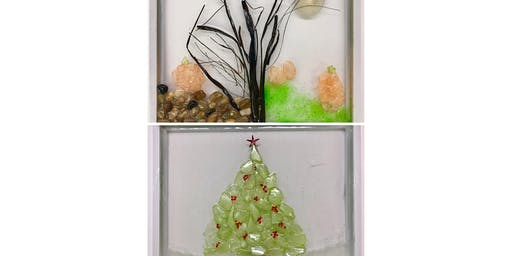 """NEW AT BRUSHSTROKE """"Clearly Beautiful"""" Glass Masterpiece"""