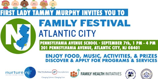 First Lady Tammy Murphy's Family Festival in Atlantic City