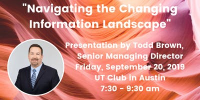 Navigating the Changing Information Landscape