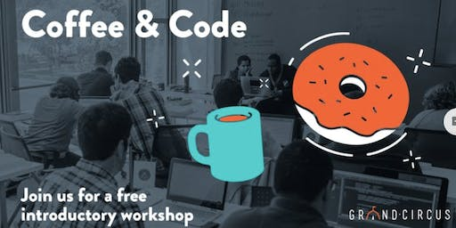Intro to Coding Workshop at Roots Brew Shop