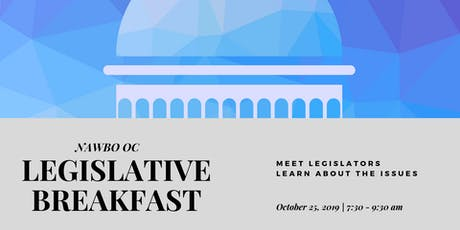 NAWBO-OC Annual Legislative Breakfast tickets