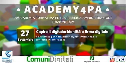 Capire il digitale: identità e firma digitale