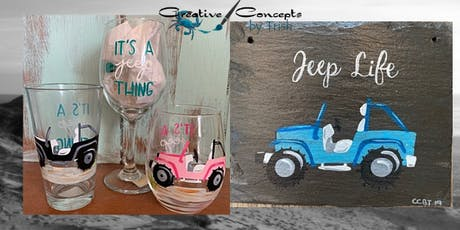 Jeep Slate or Glass Paint Night tickets
