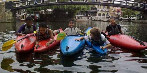 The Pirate Castle Kayaking Session - 5th October