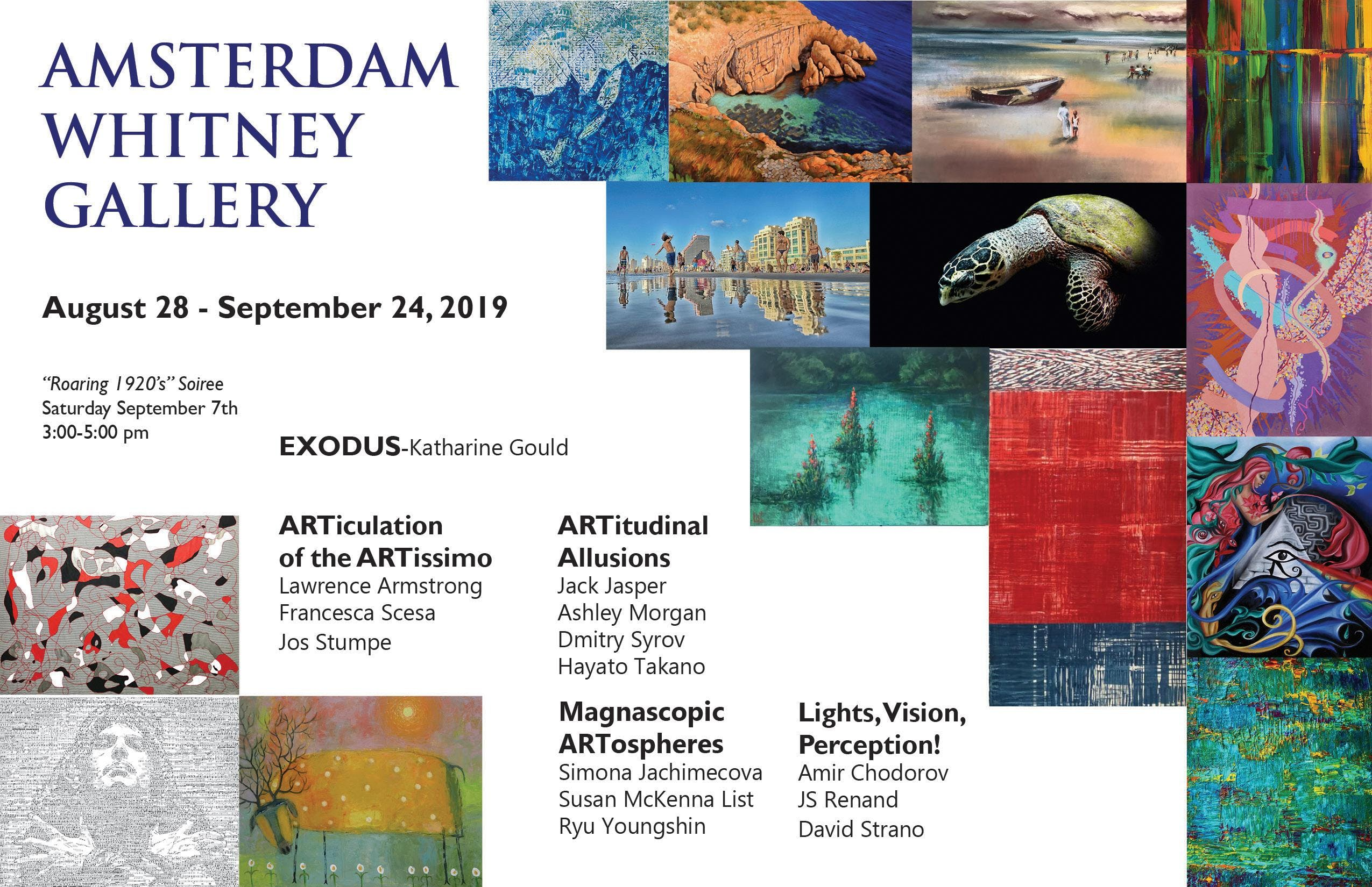 Amsterdam Whitney's September 2019 Exhibition