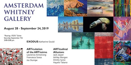 Amsterdam Whitney's September 2019 Exhibition tickets
