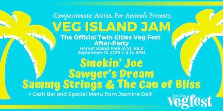 Veg Island Jam 2019 - The Official Twin Cities Veg Fest After-Party tickets