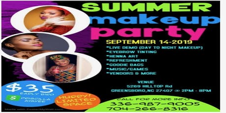 SUMMER MAKEUP PARTY tickets