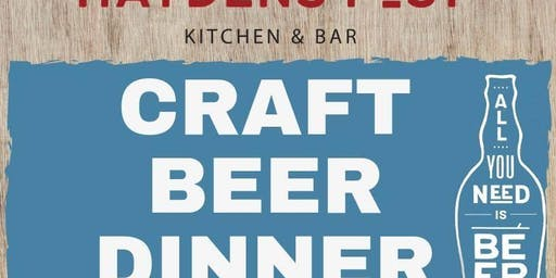 Beer Dinner with Snake River Brewery