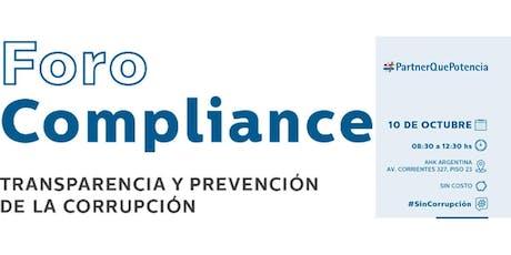 Foro Compliance 2019 - AHK Argentina entradas