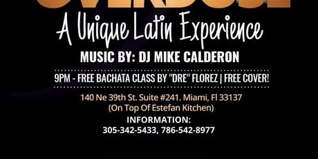 Bachata Overdose at St. Roch Market! tickets