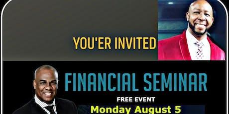 RiseUpRevolution Financail Seminar tickets