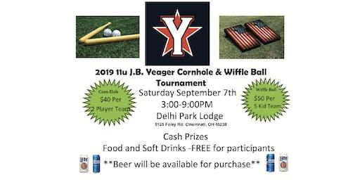 CORNHOLE AND WIFFLE BALL TOURNAMENT