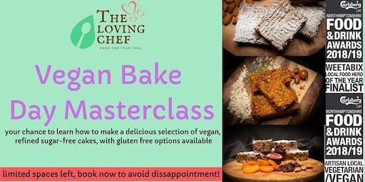Vegan Bake Day Master Class