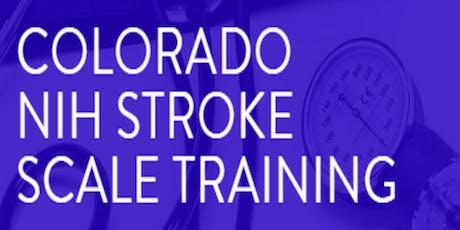 Colorado NIHSS Training tickets