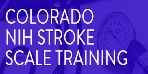 Colorado NIHSS Training
