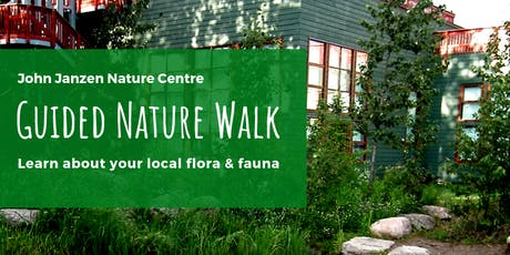 Guided Nature Walk tickets