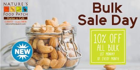 Bulk Sale Day tickets