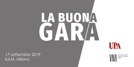 """Partecipa all'evento """"La Buona Gara"""""""