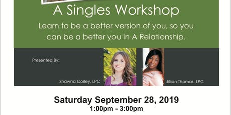 Singles Workshop tickets