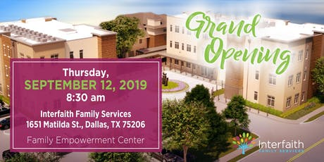 Interfaith's Family Empowerment Center Grand Opening tickets