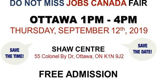 OTTAWA JOB FAIR - September 12th, 2019