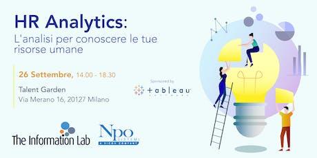 HR Analytics: L'analisi per conoscere le tue risorse umane biglietti