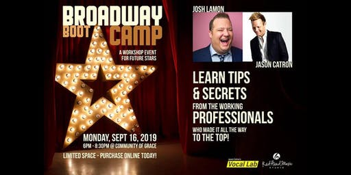BROADWAY BOOT CAMP is returning to Peoria, AZ for one night only!