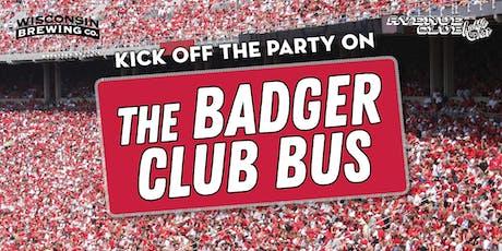 Badger Club Bus // UW v. Northwestern tickets