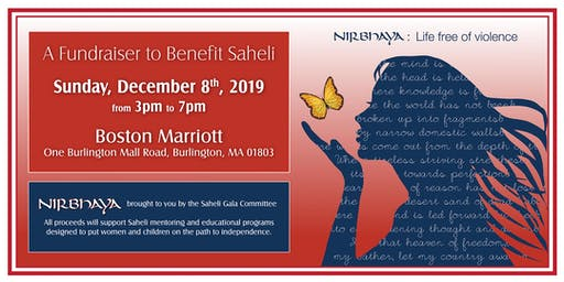 Nirbhaya - A Fundraiser to Benefit Saheli